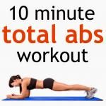 10 Minute Total Abs Workout - 20 moves in only ...