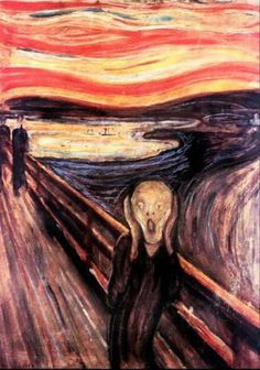 Le Cri, Edvard Munch, Art, Psychiatrie,