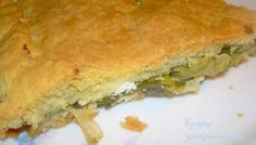 Χορτόπιτα με άγρια γιαχνερά χόρτα και ξινομυζήθρα Cheese Pies, Spanakopita, Greek Recipes, Quiche, Sandwiches, Pizza, Baking, Breakfast, Ethnic Recipes