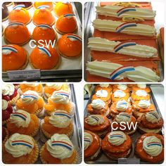 Dutch WorldCup 2014 pastries @ARUBA. GoHolland! https://m.facebook.com/crea.sushiworkshops