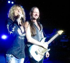 Reb Beach and David Coverdale