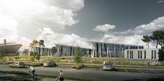 Centre Aquatique de Saint Nazaire - Piscines et centres aquatiques   Agence Coste Architectures