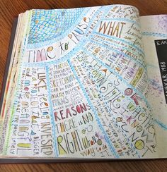 Time to Pause (by Pat Pitingolo) - Art Journaling