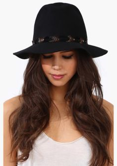 4198094fa2e Carrie Boho Hat -- I have a hat like that.
