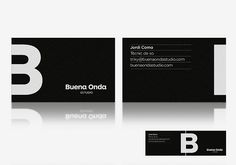 Buena Onda Recording Studio business cards | by Quim Marin w… | Flickr