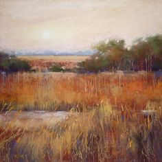 G is for Grass...My Favorite Tips for Painting Grasses, painting by artist Karen Margulis