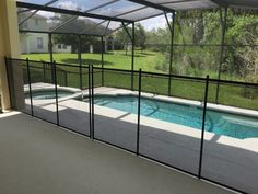 Orlando, Florida - Orlando, Florida families can rest better knowing that the family pool is surrounded by a Baby Barrier Pool Fence. #PoolFence #PoolSafety #BabyBarrier