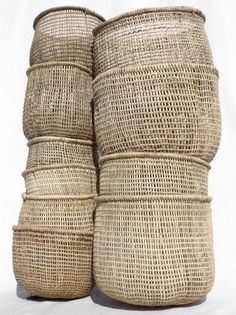 all sizes of sisal baskets Sisal, Home Decor Accessories, Decorative Accessories, Turbulence Deco, Naturally Beautiful, Wabi Sabi, Storage Baskets, Kitchen Storage, Wicker Baskets