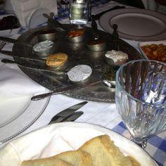 Turkish supper; meze starter