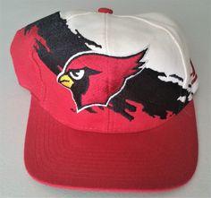 Arizona Cardinals Vintage Snapback Logo Athletic Splash Hat NFL Pro Line Cap