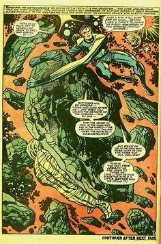 Nice Jack Kirby page from the Fantastic Four.