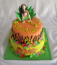 Katy Perry Roar cake