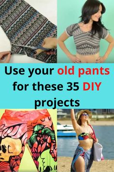 It happens: We all have pants that will eventually get trashed. It's part of our ever-evolving closets and lives! But what if we told you that instead of getting rid of your pants, you can actually use them for 35 other wonderful projects? Well, you can. See some of your fabulous options here.