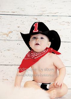 Baby Boy / Toddler Party Set in Cow Hide Red by callyfindlay, $46.85 - Idea for Stetson's 1st birthday!