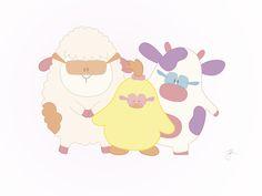 Het verhaal van de Boerderij Vriendjes: Zet je zonnebril op! #meisjeskamer #jongenskamer #wanddecoratie #inspiratie #kinderkamer #muursticker #baby #boerderij #dieren #boerderijdiertjes #blauw #groen #pastel #kuiken #kalf #varkentje #eendje #konijn #schaap #lammetje #lam #boerderijvriendjes #peuter #kwaliteit #design #uniek #nederland #zwanger #zwangerschap #pasgeboren #interieur #muur #liefde #stickergalerij #mama #moederdag  Voor de volledige collectie kijk op: www.stickergalerij.nl