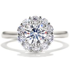 Engagement Ring Photos - Find the perfect engagement ring pictures at WeddingWire. Browse through thousands of photos of engagement rings. Round Diamond Engagement Rings, Diamond Rings, Wedding Jewelry, Wedding Rings, Wedding Bells, Fire Heart, Hearts On Fire, To Infinity And Beyond, Dream Ring