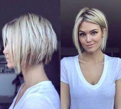 16.Hairstyle de cabelo curto em camadas