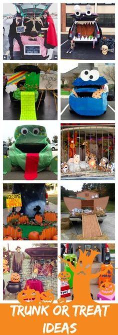 36 Trunk-Or-Treat Themes That Really Nailed It Disney, Trucks and Cars - decorate your car for halloween