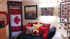 My sons dorm room!!
