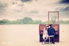 i think i'd like to marry a musician, so we can have really cool engagement photos