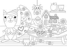 Pikku Kakkosen tulostettavat värityskuvat. Free printable pattern. lasten | askartelu | tulostettava | kesä | käsityöt | koti | väritys | värityskuva | värittäminen | DIY ideas | kid crafts | summer | home | colouring | coloring | Pikku Kakkonen