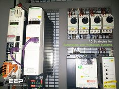 10 Strategies for Automation and Production Systems (on photo: Control and automation panel for servo motors - by Schneider Electric)