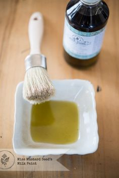 "USING WAX VERSUS USING HEMP OIL AS A TOP COAT FOR PAINTED FURNITURE ~ Miss Mustard Seed says "" I use Hemp Oil when I know a piece will be exposed to heat, so I don't have to worry about melting. I use wax when I'm just in the mood to ..."""