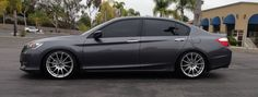 2013 Honda Accord Lowered with Wheels Honda Accord Custom, 2013 Honda Accord, Honda Accord Coupe, Honda Accord Sport, Honda Crv, My Dream Car, Dream Cars, Civic Jdm, Tuner Cars
