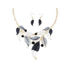 ZaH Boho Jewelry Set Pentant Necklace and Earrings for Women Girls Vintage Gift Wedding Party Black White Leaf >>> See this great item. (This is an affiliate link ). White Leaf, Black And White, Boho Jewelry, Jewelry Sets, Gifts For Wedding Party, Vintage Gifts, Women's Earrings, Earring Set, Tassel Necklace