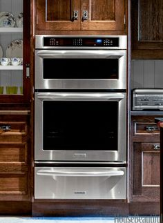 kitchen aid Architecut series - combination microwave, oven and warming drawer