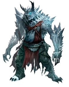 Ice Character Concept - Game: Guild Wars 2
