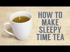 How to Make and Brew Your Own Sleepy Time Tea | Crane & Canopy | Blog