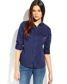 U.S. POLO ASSN. Woven Button Shirt
