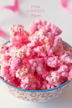 Pink Popcorn for Breast Cancer Awareness Month
