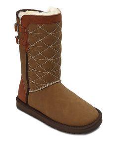 Transco Camel Buckle Snow Boot | zulily