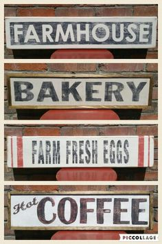 Do you need a distressed wood sign? Check out Green Elephant Vintage & Handmade. https://www.etsy.com/listing/277485952/custom-wood-sign-bakery-market-laundry