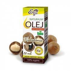 Olej Makadamia, Macadamia 50 ml tłoczony na zimno ETJA