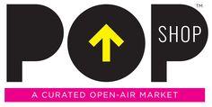 Andrea Espach Design // PopShop Market logo