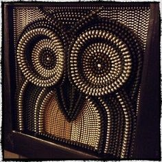Owl be seeing you soon... Custom Recycled Vintage Zipper Wall Art