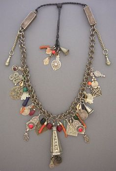 Unique ethnic jewelry and tribal jewelry. Handcrafted necklaces, bracelets, and rings using antique and ancient beads and artifacts by jewelry designer Anna Holland. Tribal Necklace, Tribal Jewelry, Boho Jewelry, Beaded Jewelry, Jewelery, Silver Jewelry, Jewelry Necklaces, Handmade Jewelry, Jewelry Design