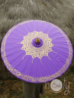 Hand Painted Purple Parasol, Purple Umbrella, Parasol, Umbrella, Parasols, Umbrellas, Wedding Parasol, Waterproof Parasol, Parasol Umbrella by HolyCowproducts on Etsy https://www.etsy.com/listing/195410620/hand-painted-purple-parasol-purple