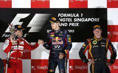 In Pics: Singapore Grand Prix #Singapore2013