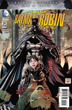 Everything that can go wrong does in both the past and the present! Batman spent years believing Mother was dead...and when you see their blood-soaked confrontation, you'll know why! Now that she's re