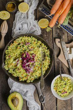 Cauliflower cous cous