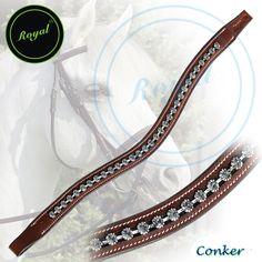 Royal Ornamental & Designer U-Shaped Clear Crystal Brow Band. Regular price $48 Sale price $38 (Conker)