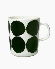 Marimekko Marimekko Green Oiva Kivet Mug - Trouva Marimekko, Mugged Off, Dishwasher Pods, Green Mugs, Mug Designs, Body Shapes, Scandinavian Design, Stoneware, Home Accessories