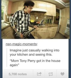 Tony Perry from Pierce The Veil ♥ I love him in this music video ♥