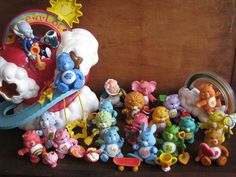 Carebears vintage 1980's collection by Siri_Mae_doll, via Flickr