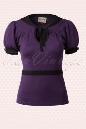 Banned Purple Bow Top 110 60 14183 20140930 0005W
