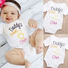 Descripción 100% Brand New and High Quality Color : As the picture show Material : 100% Cotton Attention plz: If your kid is chubby, we recomend choosing a larger size, thanks. What you got: 1 x Cute